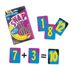 Invata adunarea si scaderea Set carti de joc, Learning Resources