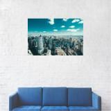 Tablou Canvas, Orizontul orasului Sao Paulo - 20 x 30 cm
