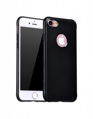 Carcasa protectie spate cu suprafata mata pentru iPhone 7 Plus neagra foto