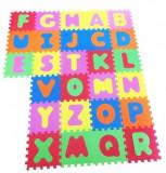 Covor puzzle din spuma Copii Alphabet 26 piese, Knorrtoys