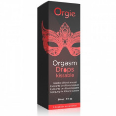Orgasm Drops Kissable