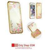 Husa Silicon DIAMOND Flower Sams J510 Galaxy J5 2016 Gold
