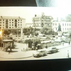 Ilustrata Craiova - Vedere din Piata Al.I.Cuza , circulat 1965