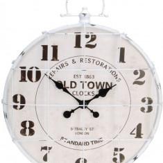 Ceas de perete Old Town metal D 60cm