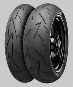 Motorcycle Tyres Continental ContiSportAttack 2 ( 120/70 ZR17 TL (58W) M/C, Variante K, Roata fata )