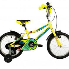Bicicleta Copii Venture 1417 Galben 14