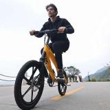 Bicicleta electrica Lehe S1 - Galben, 20, 3