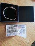 Brățară tip Pandora argint 925