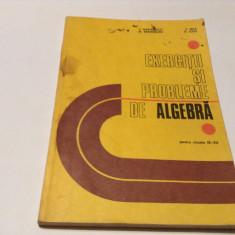 Exerciţii şi probleme de algebră pentru clasele IX-XII, C. Nastasescu-RF14/0