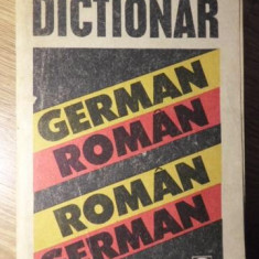 DICTIONAR GERMAN-ROMAN ROMAN-GERMAN - IOAN GABRIEL LAZARESCU