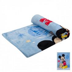 Paturica pentru landou Mickey Mouse 75 cm x 100 cm