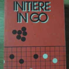 INITIERE IN GO - GHEORGHE PAUN