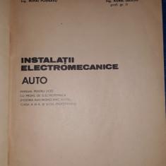 Instalatii electromecanice auto - Meseria electromecanic auto Bucuresti 1980