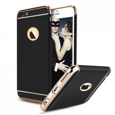 Husa Ultrasubtire Iphone protejeaza 3in1 Elegant Black