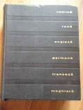 Dictionar Tehnic Poliglot Romana Rusa Engleza Germana Francez - Colectiv ,299006
