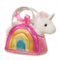 Unicorn in geanta curcubeu - Fancy Pal - 20 cm, Aurora 61171