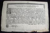 1845 Vechi document bisericesc Ilarion Episcop al Argesului, filigran & sigilii