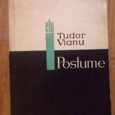 Postume - Tudor Vianu ,300628
