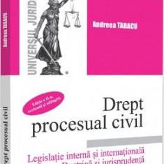 Drept procesual civil. Legislatie interna si internationala Ed.2 - Andreea Tabacu