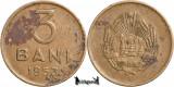 1953, 3 Bani - RPR - Romania