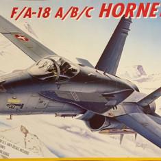 Machetă avion HORNET F/A-18 (1:72) -  Neasamblat, kit complet