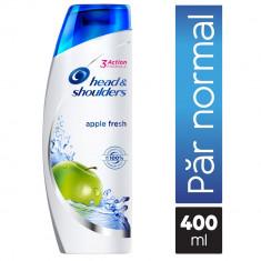 Sampon anti-matreata Head&Shoulders Apple Fresh pentru par normal, 400 ml