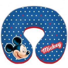 Perna suport pentru gat Mickey Mouse, rosu