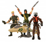 Set figurine actiune cu elicopter The Corps The Collection