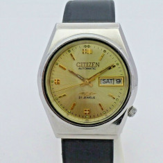 Ceas automatic Citizen - 19, Casual, Mecanic-Automatic, Inox
