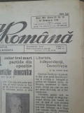 Ziarul Natiunea romana 27 octombrie 1946