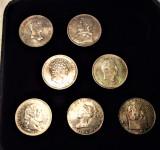 Copii ale Renașterii și 800 de monede italiene în argint 925 - 7 MONEDE, Europa