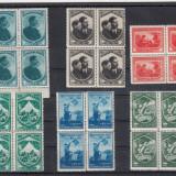 ROMANIA   1934   LP 98   JAMBOREEA   NATIONALA   SIBIU  BLOCURI DE 4   MNH