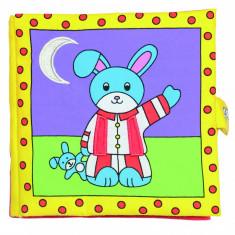Carticica moale pentru bebelusi Galt Bunny's Bedtime, 8 pagini