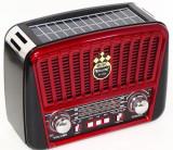 Radio , radio vintage ch panou solar , USB , aux ,, Digital