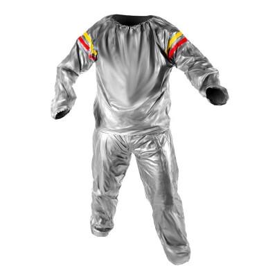 Costum pentru slabit tip sauna, Argintiu foto