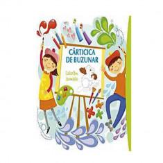 Carticica de buzunar 1. Coloram animale - Roxana Geanta