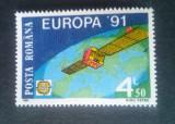 Romania 1991 - EUROPA CEPT - COSMOS,  1 timbru  MNH**  LP 1252