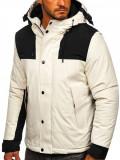 Cumpara ieftin Geacă de iarnă albă Bolf J1905
