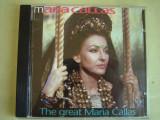 MARIA CALLAS - The Great Maria Callas - C D Original ca NOU