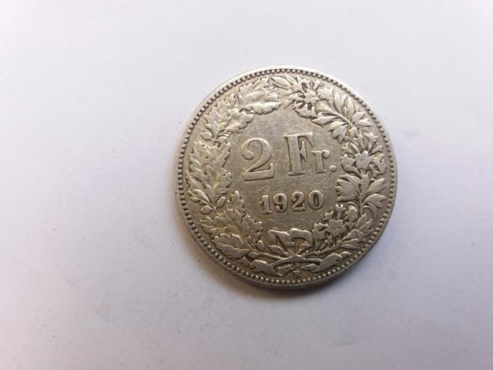 Elvetia 2 franci 1920