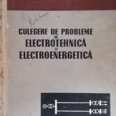 Culegere de probleme de electrotehnica si electroenergetica