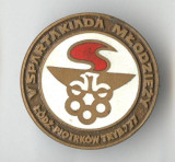 Insigna Sport - Competitie - Concurs International Atletism SPARTACHIADA 1977
