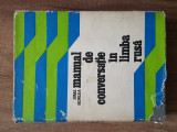 SIMA BORLEA – MANUAL DE CONVERSATIE IN LIMBA RUSA, 1976