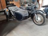 Motocicletă cu atas Dnepr MT12 funcțională
