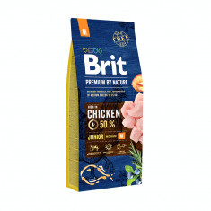 Brit Premium By Nature Junior M 15 Kg Livrare GRATUITA foto