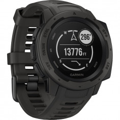 Ceas Smartwatch Garmin Instinct, GPS, Black