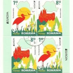 2012 - Europa, bloc stampilat tip1