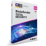 BitDefender Total Security Multi-Device 2020 3 Dispozitive 1 An Licenta noua Retail Box