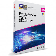 BitDefender Total Security Multi-Device 2020 3 Dispozitive 1 An Licenta noua Retail Box