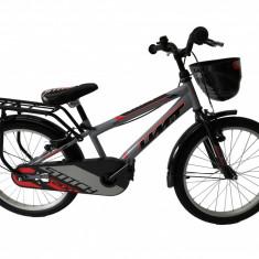 """Bicicleta Copii Umit Stitch M-ATB , Culoare Gri/Rosu Roata 20"""" Cadru OtelPB Cod:204000000"""